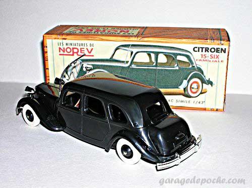 Citroën Traction 15 six familiale
