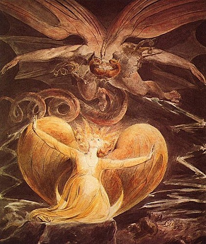 william-blake-le-grand-dragon-rouge-en-vol-et-la-femme-aux-