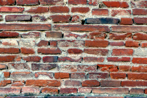 Mur ancien toulousain