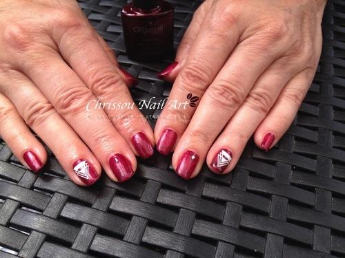 Nail Art géométrie