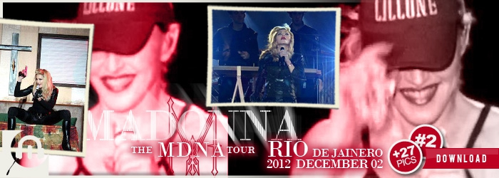 The MDNA Tour - Rio December 02 - Pictures 2