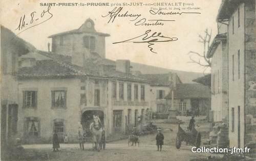 Famille Débatisse, St Priest-la-Prugne
