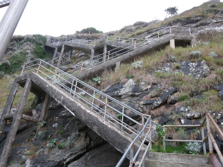 Petites ruelles et vieils escaliers