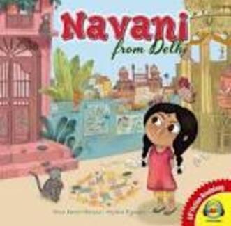 Navani de Delhi, un livre sur lequel on travaillait à l'école.