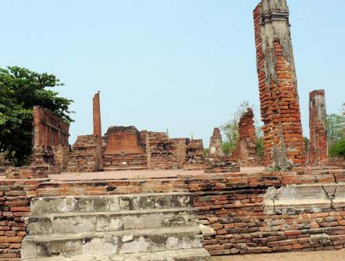 Patrimoine mondial de l'Unesco : Ayutthaya - Thaïlande -