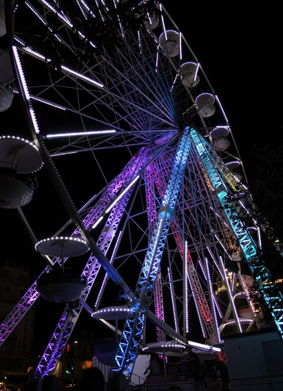 Les illuminations - suite : la Grande roue