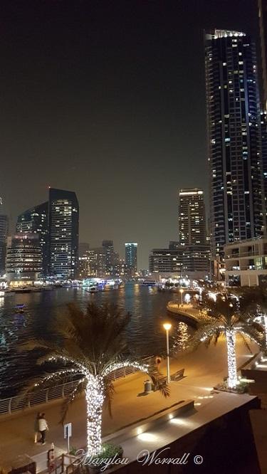 Dubaï : Marina promenade