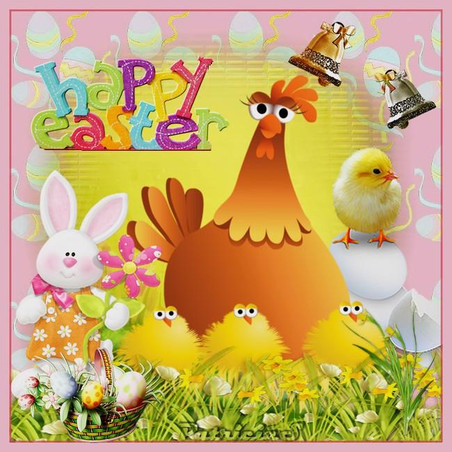 Bonnes fêtes de Pâques