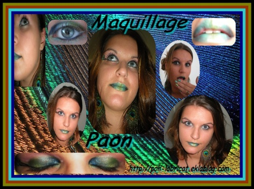Maquillage Paon