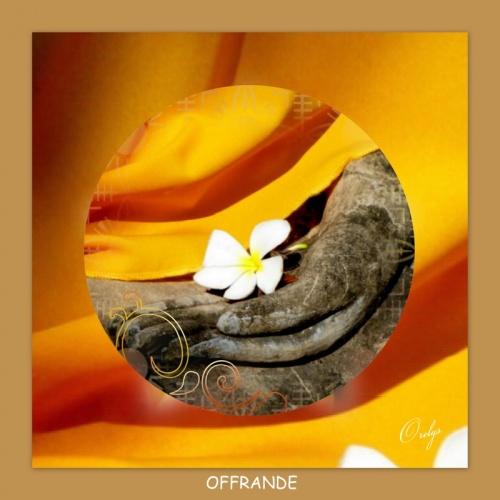 Mandala : offrande
