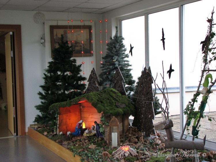 Au temps des marchés de Noël : Maison de retraite de Beblenheim