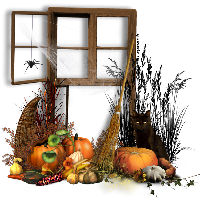 cluster halloween