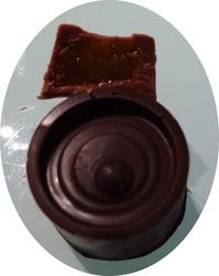 Chocolats fourrés à la clémentine