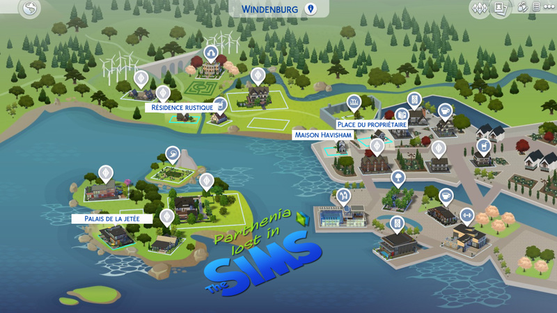Sims 4 Vivre ensemble : Windenburg