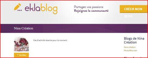 Tutoriel 2 Changer son Avatar sur son profil Eklablog