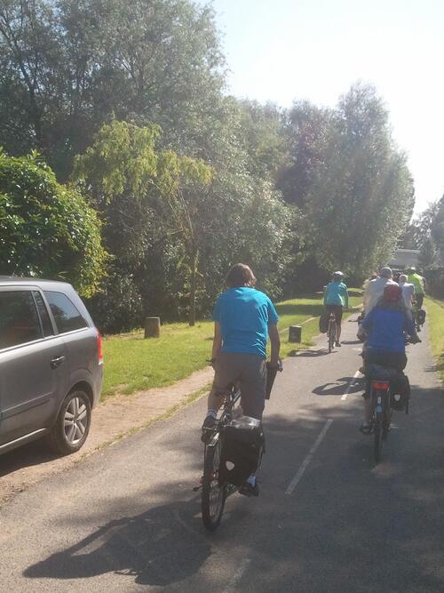 Photos et compte-rendu de la randonnée à vélo Paris-Meaux