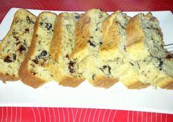 Cake aux olives noires et tomates séchées (préparation de chez Quai Sud)