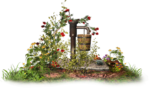 Décos de Jardin Série 3