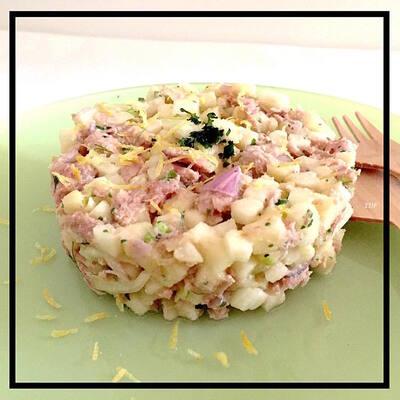 Salade fraiche et croquante fenouil & thon