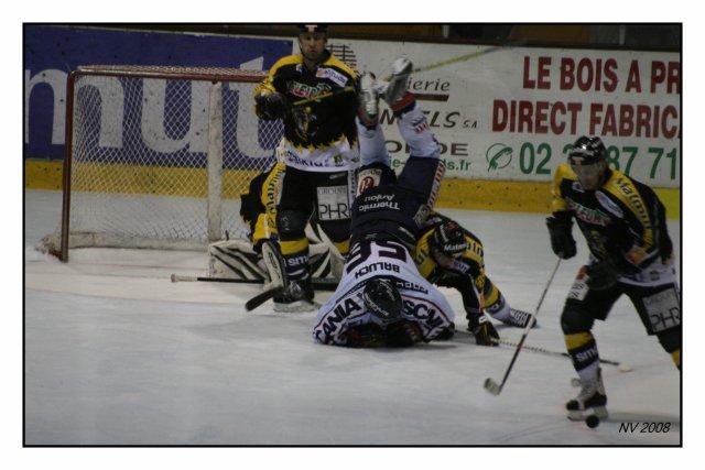 Le 22 Novembre Hockey sur Glace: ROUEN-ANGERS
