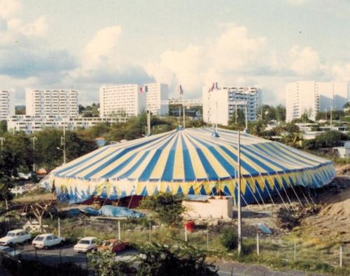 tournée du cirque Jean Richard aux Antilles en 1981