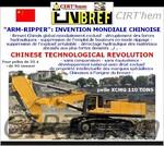 """CHINESE """"ARM-RIPPER"""":  un développement d'avant-garde."""