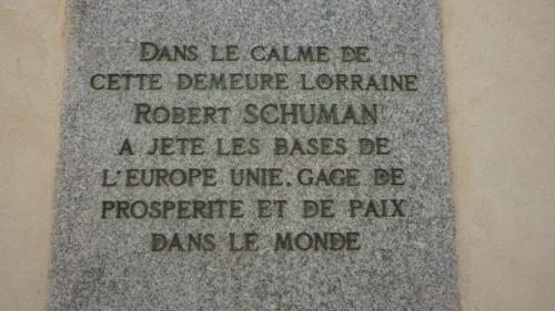 Maison de Robert Schuman à Scy-Chazelle (9 avril 2011)