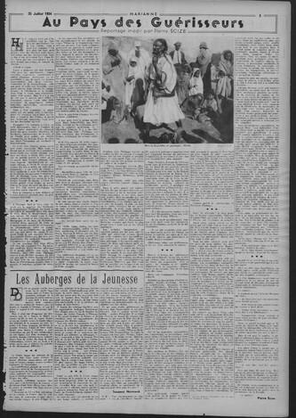 Pierre Scize - Au pays des guérisseurs (Marianne, 25 juillet et 15 août 1934)
