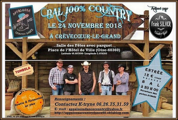 100 % Country Frank Sylver  Crévecoeur le Grand