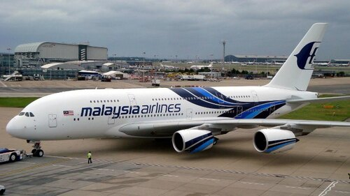 A380 de Malaysia Airlines