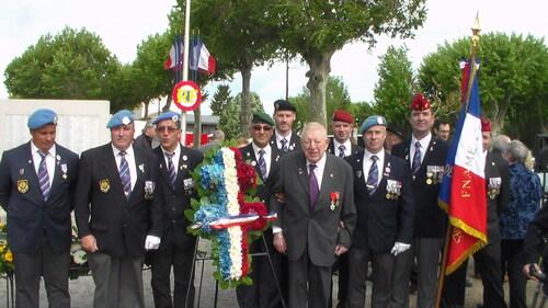 * Villeneuve sur Lot Commémoration du 71ème anniversaire de la Victoire 1940-1945