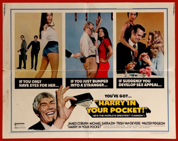 HARRY IN YOUR POCKET BOX OFFICE USA 1973