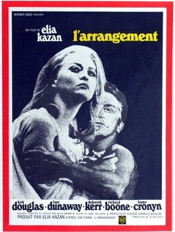 L'ARRANGEMENT -  BOX OFFICE FRANCE 1970
