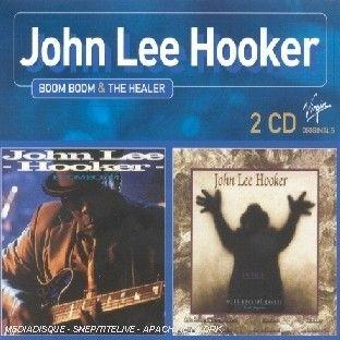 JOHN LEE HOOPER & SANTANA - The Healer,  Blues