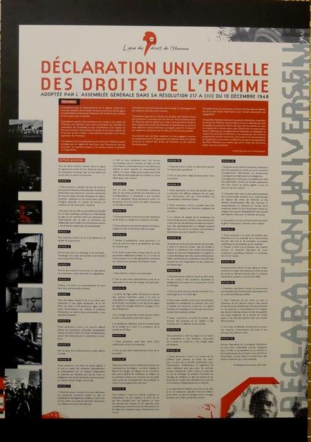 Une exposition et une conférence sur les origines de la Ligue des Droits de l'Homme