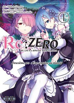 [Manga] Re:Zero Arc 2 Tome 1 : Une semaine au manoir
