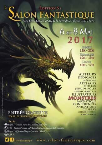 Salons, Dédicaces : Mai 2017