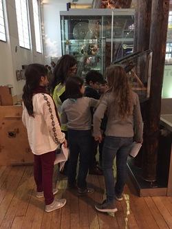 Les CM1D au Science museum