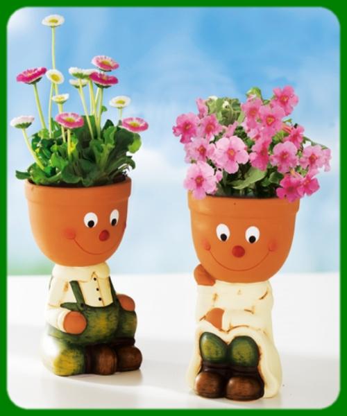 Ma réalisation - Pots de fleurs