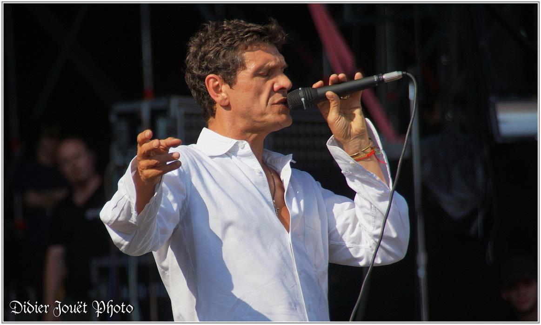 Marc Lavoine / Vieilles Charrues 2013