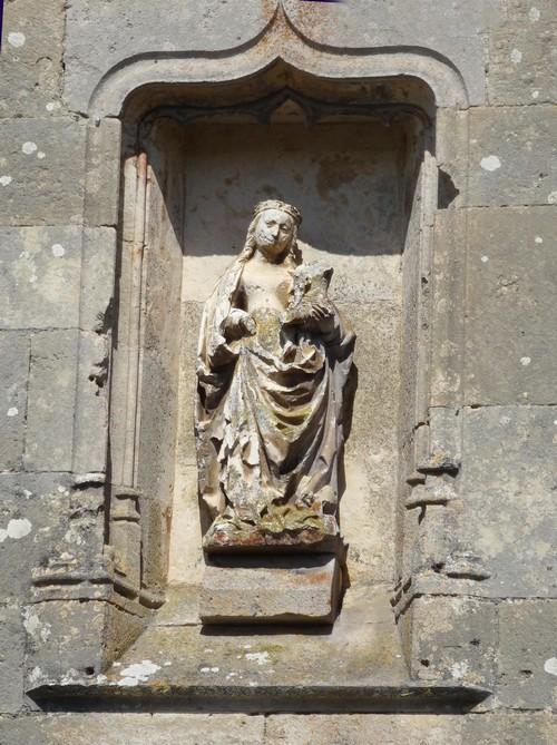 Visite de Flavigny sur Ozerain, avec les adhérents de Villages Anciens-Villages d'Avenir....