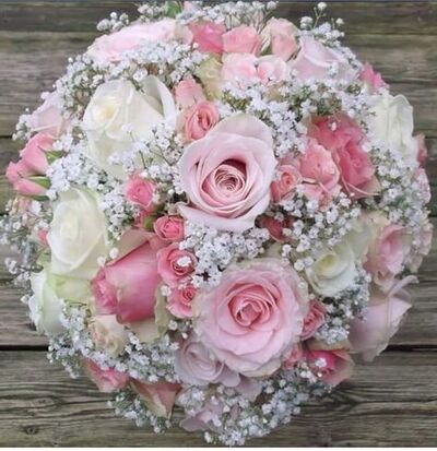 Mariées et bouquets