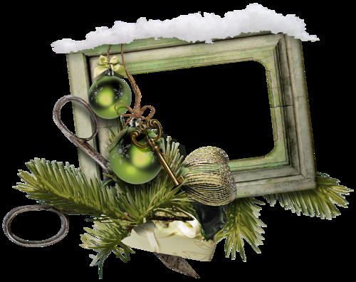 Cadres et Clusters de Noël Série 15