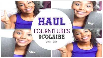 FOURNITURES SCOLAIRE, MES ACHATS 2015 - 2016
