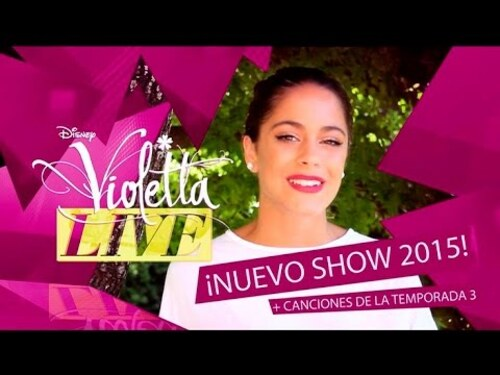 Violetta live: nuevo show 2015 (nouveau show 2015)!