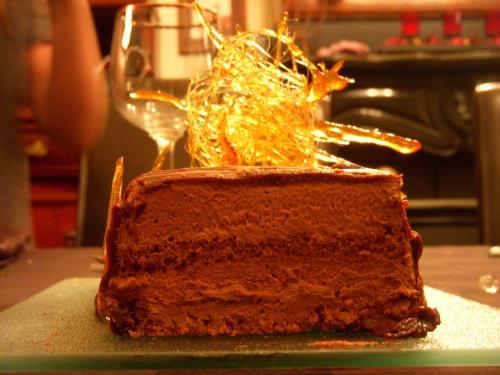 Bûche mousse au chocolat