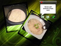 Riz au lait saveur citron vert ( et partenariat The Tops)