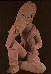 Statue Nok, le