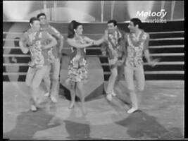 Mars 1966, la robe Hawaï