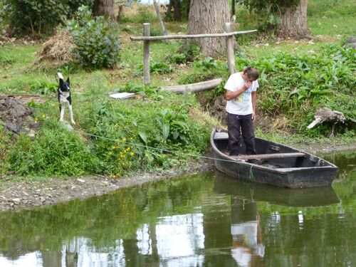 jeudi - Pont Saint Martine une histoire de pêcheur-chasseur